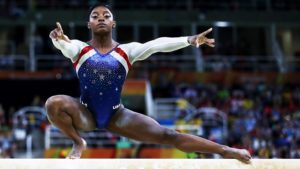 Simone Biles Finds New Way